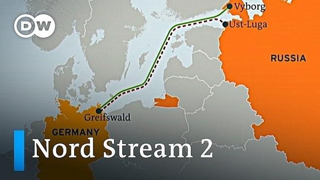 Tuyến đường ống Dòng chảy phương Bắc 2 vận chuyển khí đốt từ Nga sang Đức. (Nguồn: TASS)