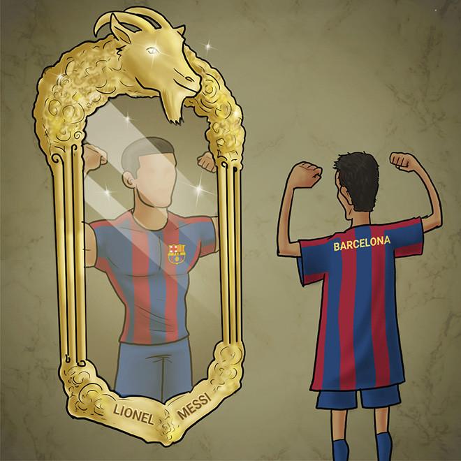 Ảnh chế: Khi không có Messi, Barcelona biến thành những
