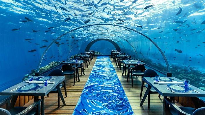 Ăn tối dưới đại dương và những trải nghiệm độc đáo chỉ có khi du lịch Maldives - 1