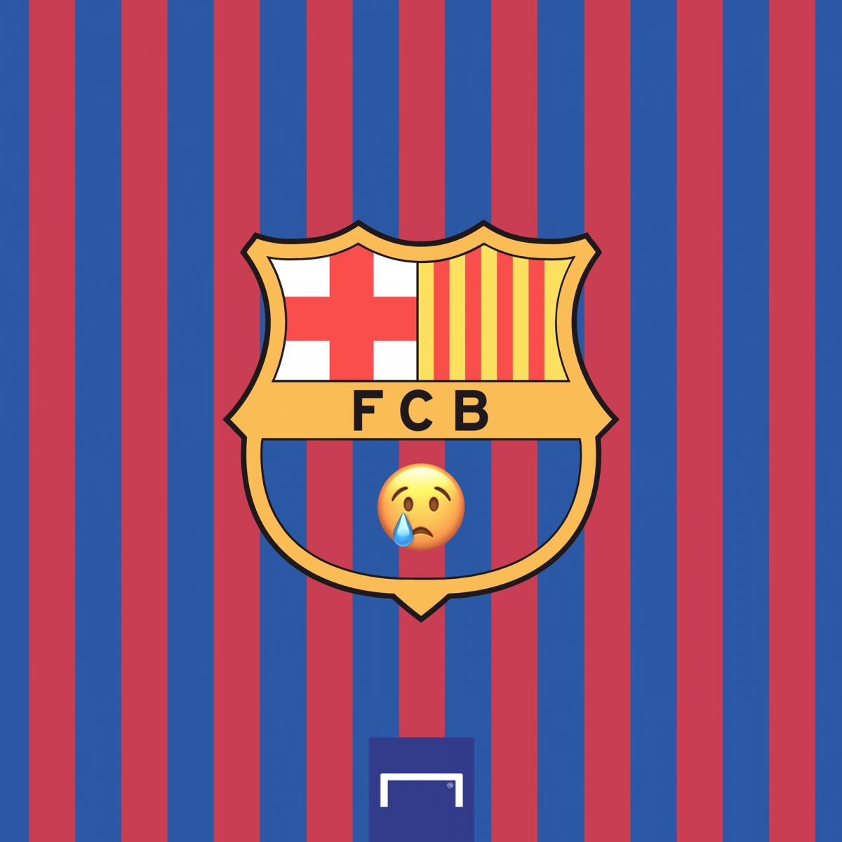 Người hâm mộ Barca không còn nhận ra đội bóng con cưng. (Ảnh: Goal)