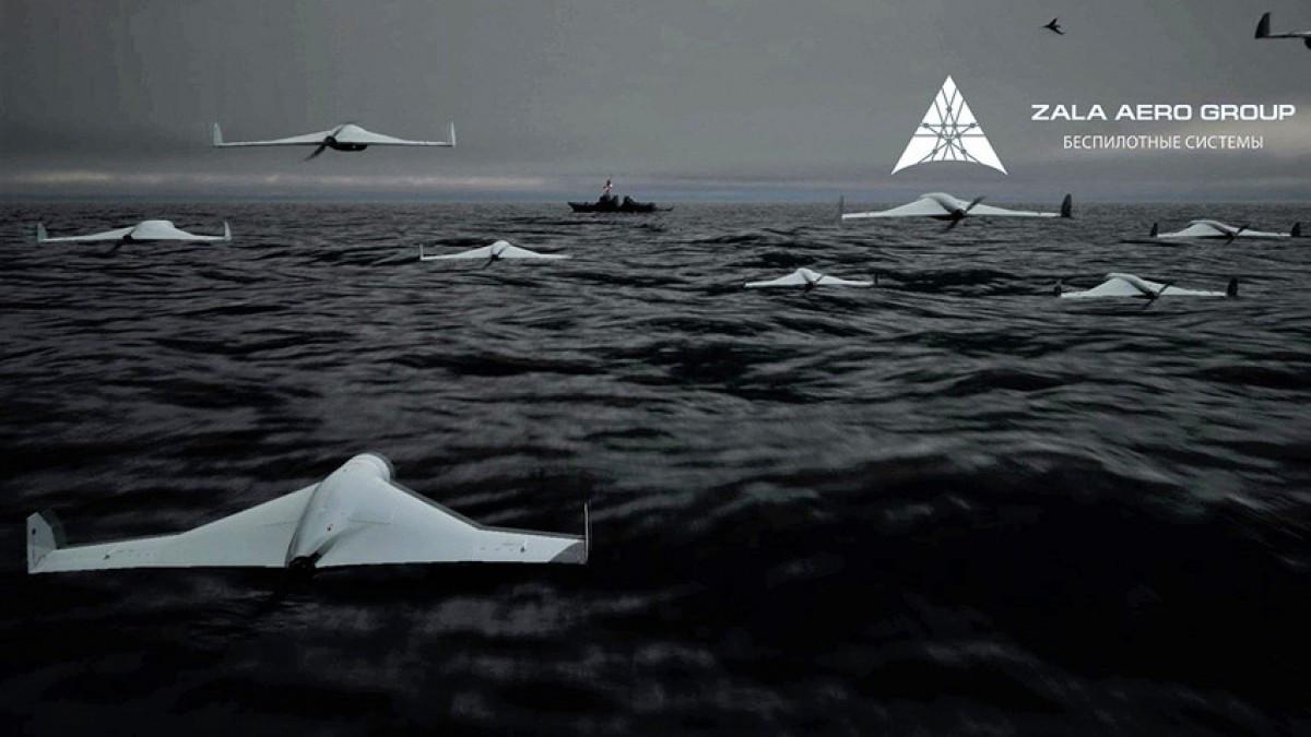 UAV cảm tử KUB mới -