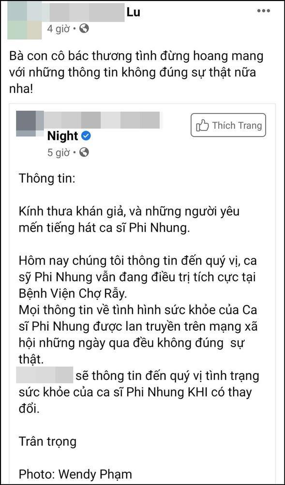 Phi Nhung đang chuyển biến xấu: Ông nói gà, bà nói vịt-2