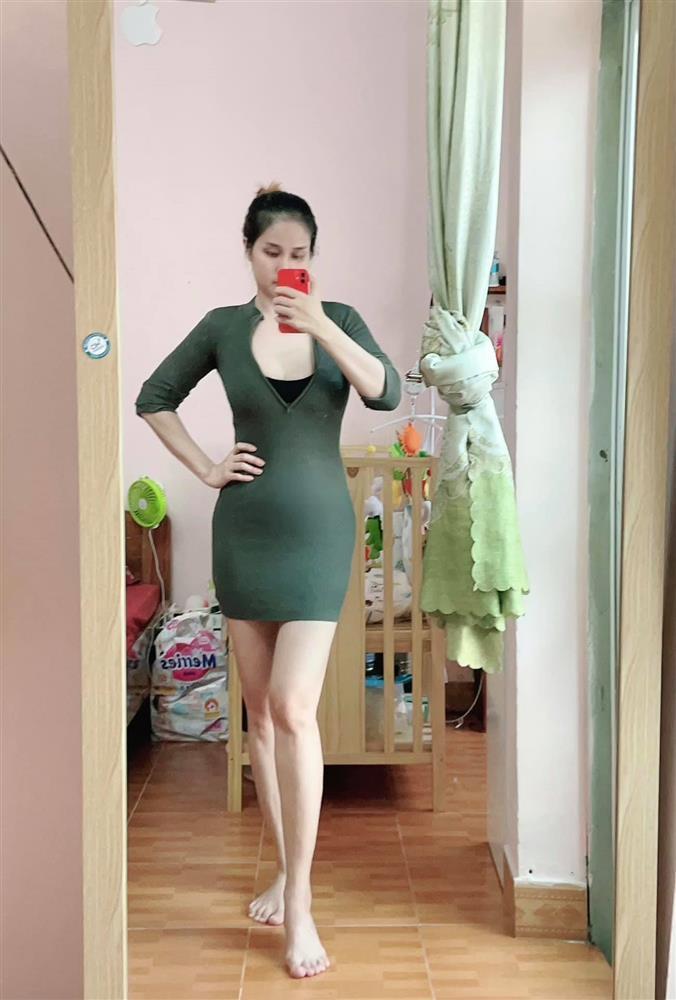 Thảo Trang tự nhận như cá mập mắc cạn khi vác bụng bầu-3