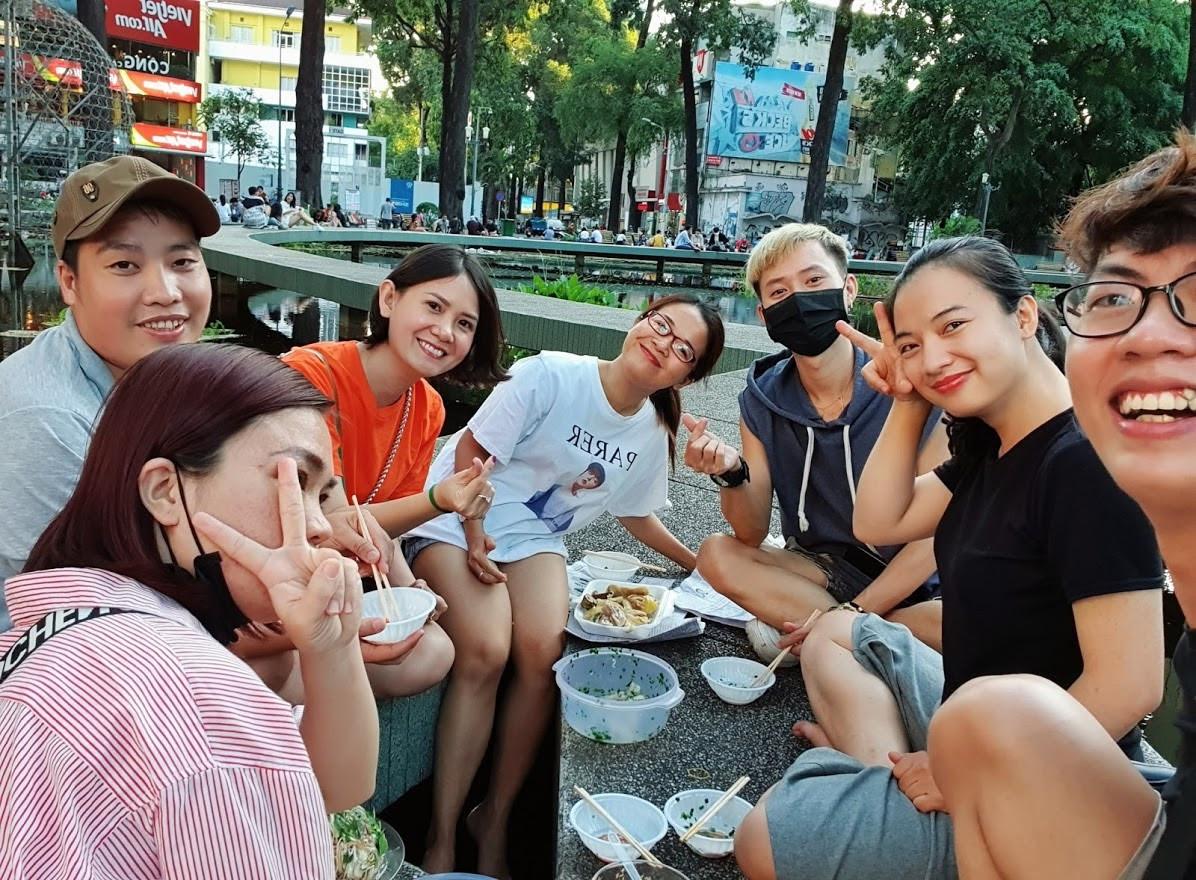 Hết dịch rủ ngay đám bạn ra Hồ Con Rùa ăn tré trộn 'ngon nhứt Sài Gòn' - 1