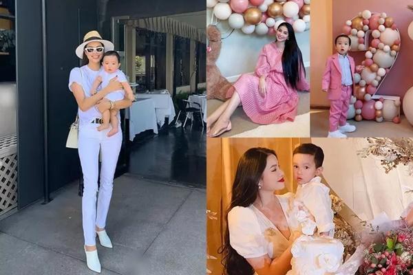 Con trai thứ hai của Phạm Hương có đặc điểm giống anh cả như lột-11