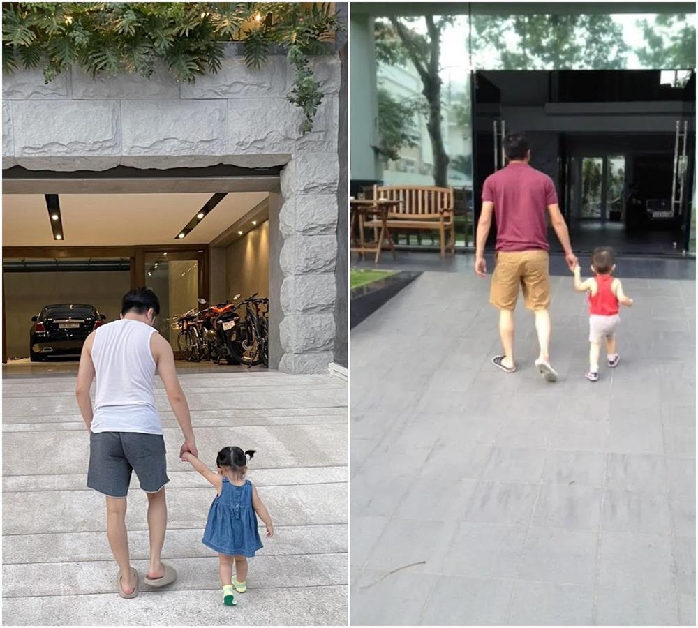 Kim Lý - Cường Đô La: Người kín đáo, người auto thiếu vải trông con-7