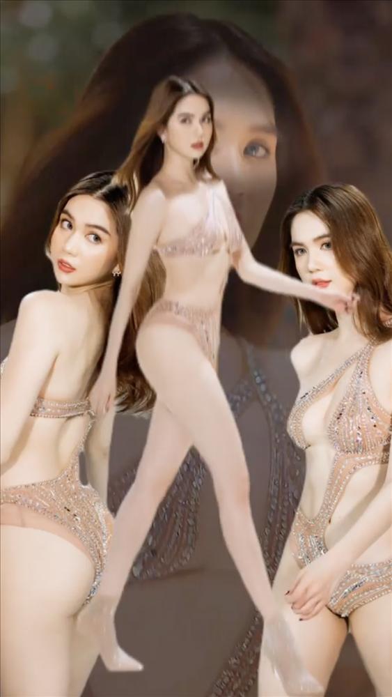 Ngọc Trinh mặc bikini bé bằng 3 ngón tay, có cả loại trong suốt nhìn thấu-10