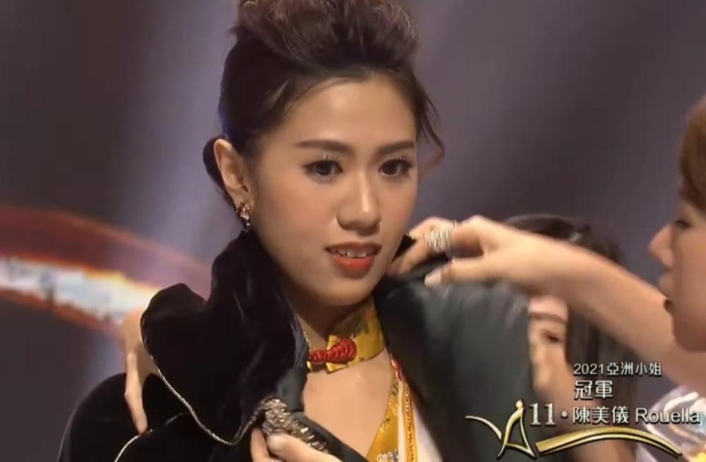 Thí sinh xấu béo chiếm spotlight của tân Hoa hậu Châu Á 2021-2