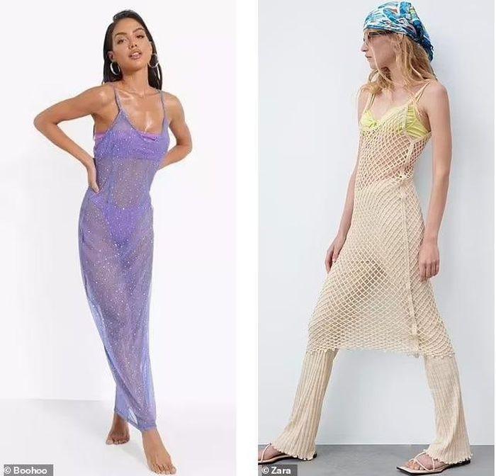 Váy khỏa thân được sao quốc tế chuộng hậu giãn cách-4