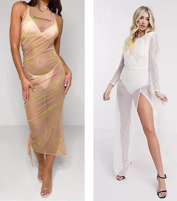 Váy khỏa thân được sao quốc tế chuộng hậu giãn cách-5