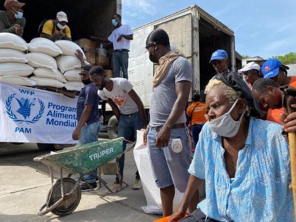 Khủng hoảng nối khủng hoảng, hàng trăm nghìn người dân Haiti rơi vào 'thảm cảnh' mất an ninh lương thực. (Nguồn: WFP)