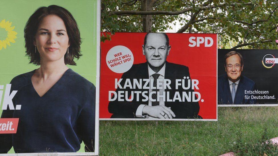 Bầu cử Đức: Nhiều khả năng việc thành lập liên minh cầm quyền phải cần tới sự hợp lực của 3 đảng mới có thể chiếm quá bán để thành lập chính phủ. (Nguồn: AFP)