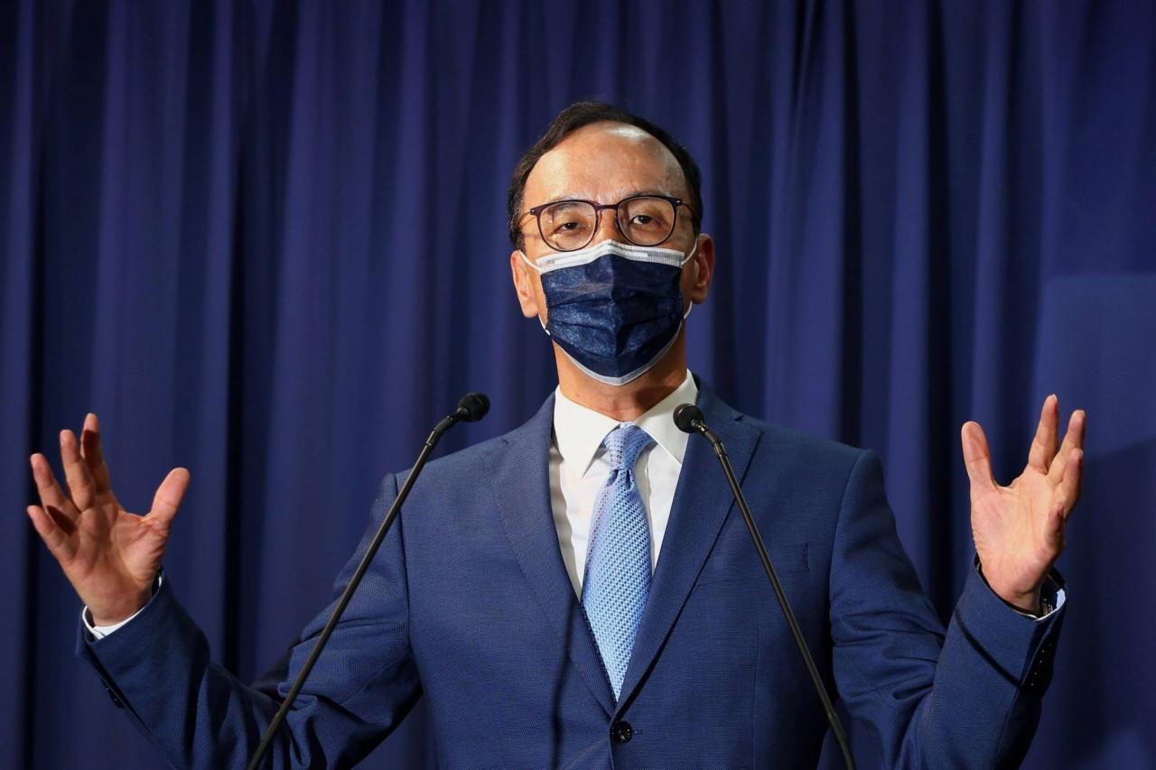 (09.26) Chủ tịch Quốc dân đảng tại Đài Loan (Trung Quốc) Chu Lập Luân. (Nguồn: Reuters)