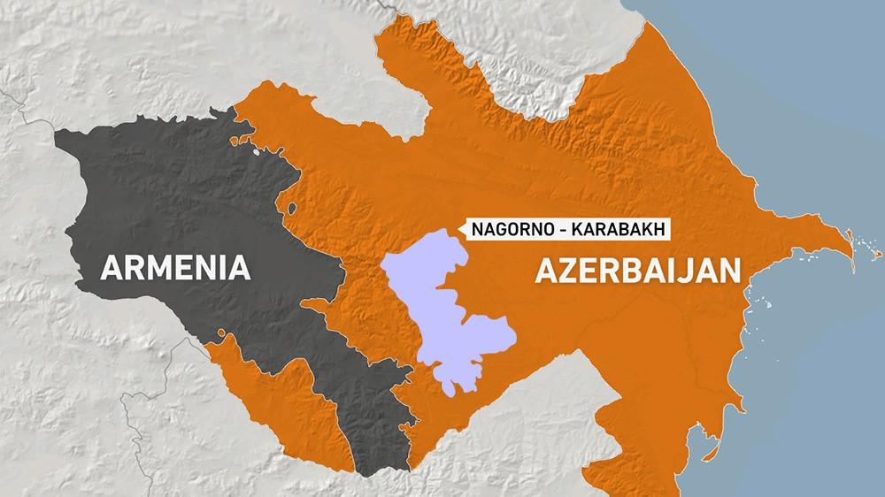 Nga đề nghị giúp phân định biên giới Armenia-Azerbaijan. (Nguồn: IFP)