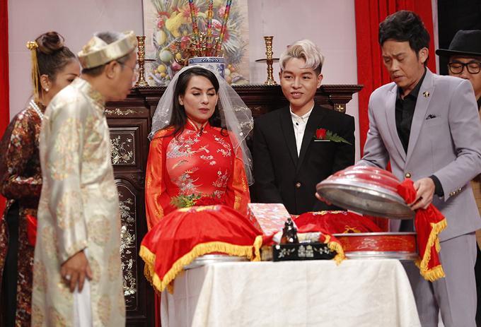 Lần duy nhất Phi Nhung mặc váy cưới, chú rể lại kém 24 tuổi-3