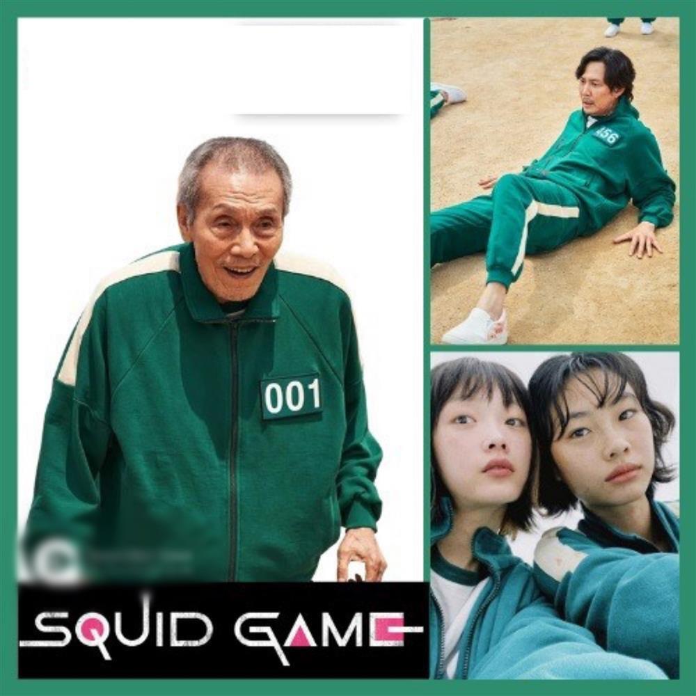 Bắt trend cực mạnh: Bộ đồ nỉ Squid Game bán đầy trên mạng giá hời-3