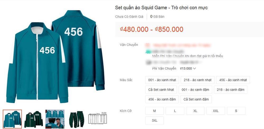 Bắt trend cực mạnh: Bộ đồ nỉ Squid Game bán đầy trên mạng giá hời-7