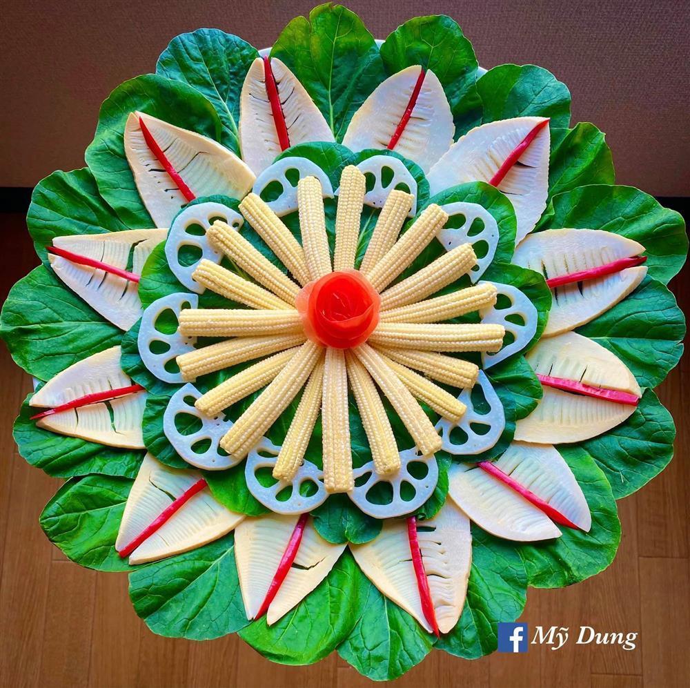Gái đảm biến đồ ăn thành tác phẩm nghệ thuật ngắm cũng no-3