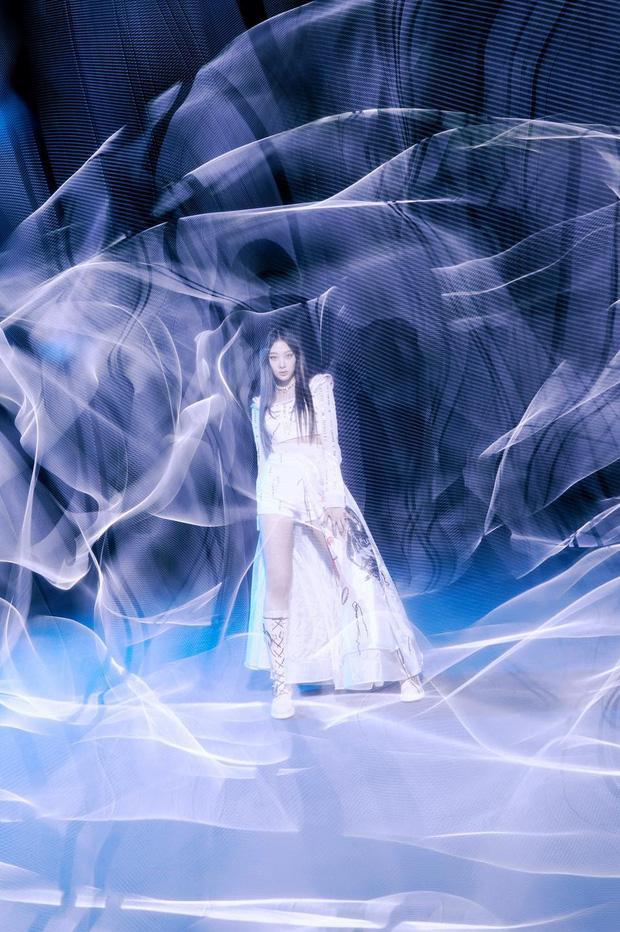 Aespa thả xích bộ ảnh teaser khoe biến hình ảo ma với mặt nạ nữ thần-4