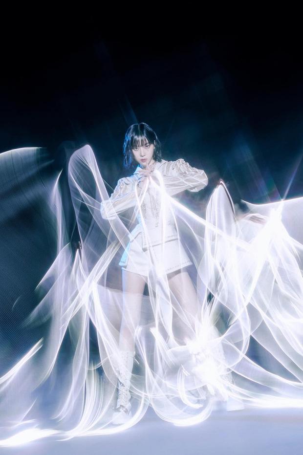 Aespa thả xích bộ ảnh teaser khoe biến hình ảo ma với mặt nạ nữ thần-9