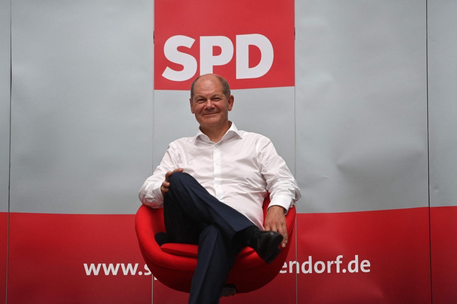 Kết quả bầu cử Đức: Lần đầu tiên sau nhiều năm, SPD trở lại, 'đả bại' liên minh cầm quyền. (Nguồn: AFP)
