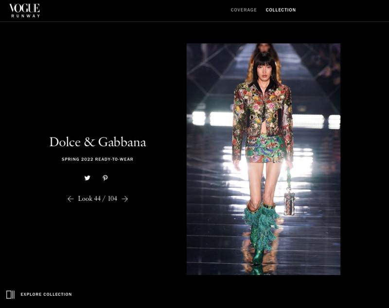 Người mẫu Việt đầu tiên trình diễn cho Dolce&Gabbana - 4