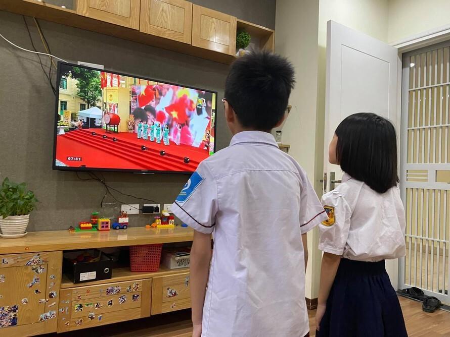 Hà Nội thông báo các trường tiếp tục dạy học trực tuyến - 1