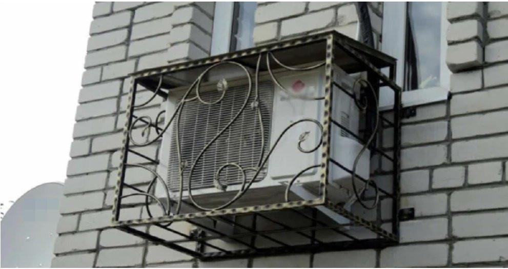 Cục nóng điều hòa thường lắp bên ngoài có cần che mưa nắng không, chuyên gia giải thích-1