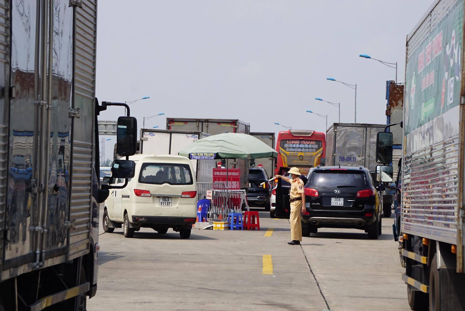 Thử nghiệm phần mềm kiểm soát lái xe vận tải hàng hóa bằng mã QR Code