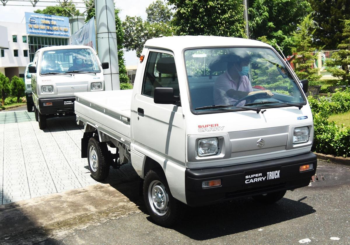 Suzuki Super Carry Truck và Blind Van là hai mẫu xe được sản xuất và lắp ráp trong nước.