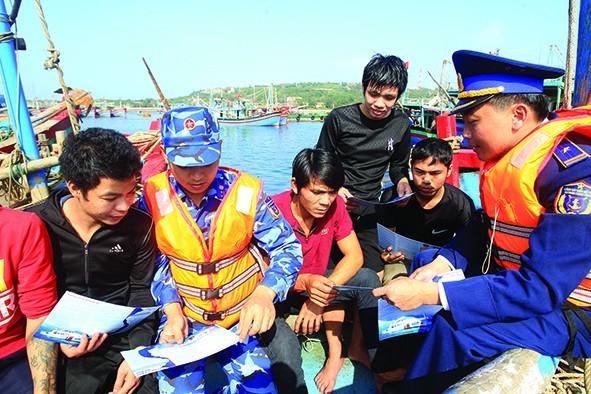 Triển khai Đề án 'Tuyên truyền, phổ biến Luật Cảnh sát biển Việt Nam, giai đoạn 2019 - 2023'