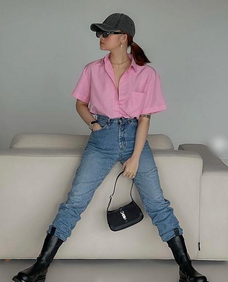 Chi Pu khoe thời trang đỉnh cao ở Mỹ - Miu Lê táo bạo không mặc quần-7