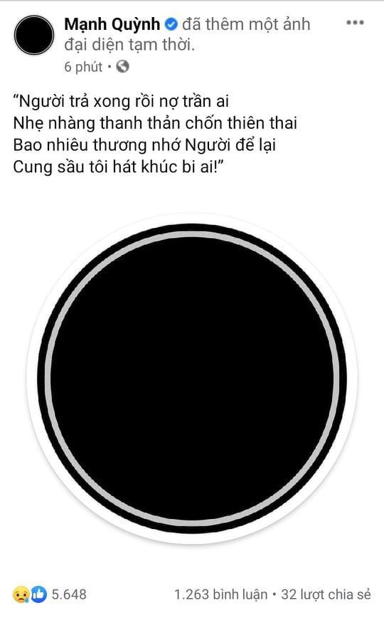 4 câu thơ gói trọn nỗi lòng Mạnh Quỳnh khi Phi Nhung không còn-1