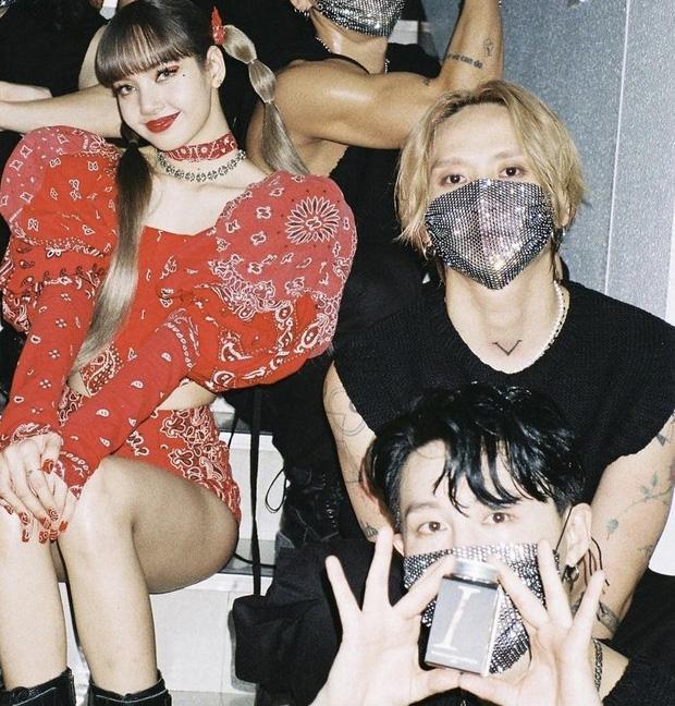 Bạn trai HyunA và cầu thủ Son Heungmin đi làm dancer cho Lisa?-1