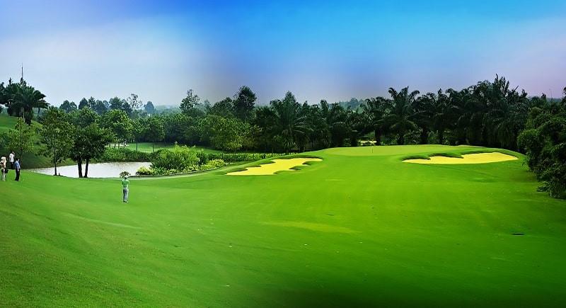 Sân golf Yên Bình Thái Nguyên