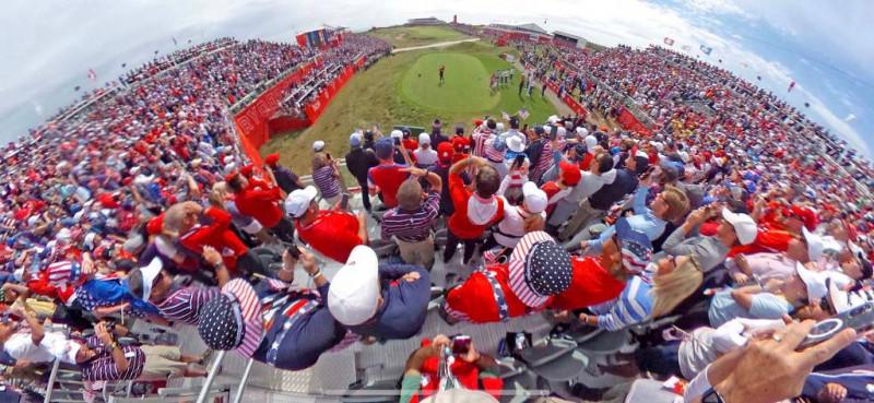 Khán giả là nguồn động viên tinh thần rất lớn để giúp tuyển Mỹ luôn thi đấu với sự hưng phấn cao nhất.