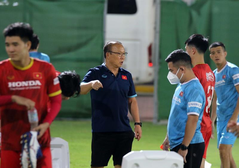 HLV Park Hang Seo tiếp tục lo toan cho chiến dịch của U22 Việt Nam - 1