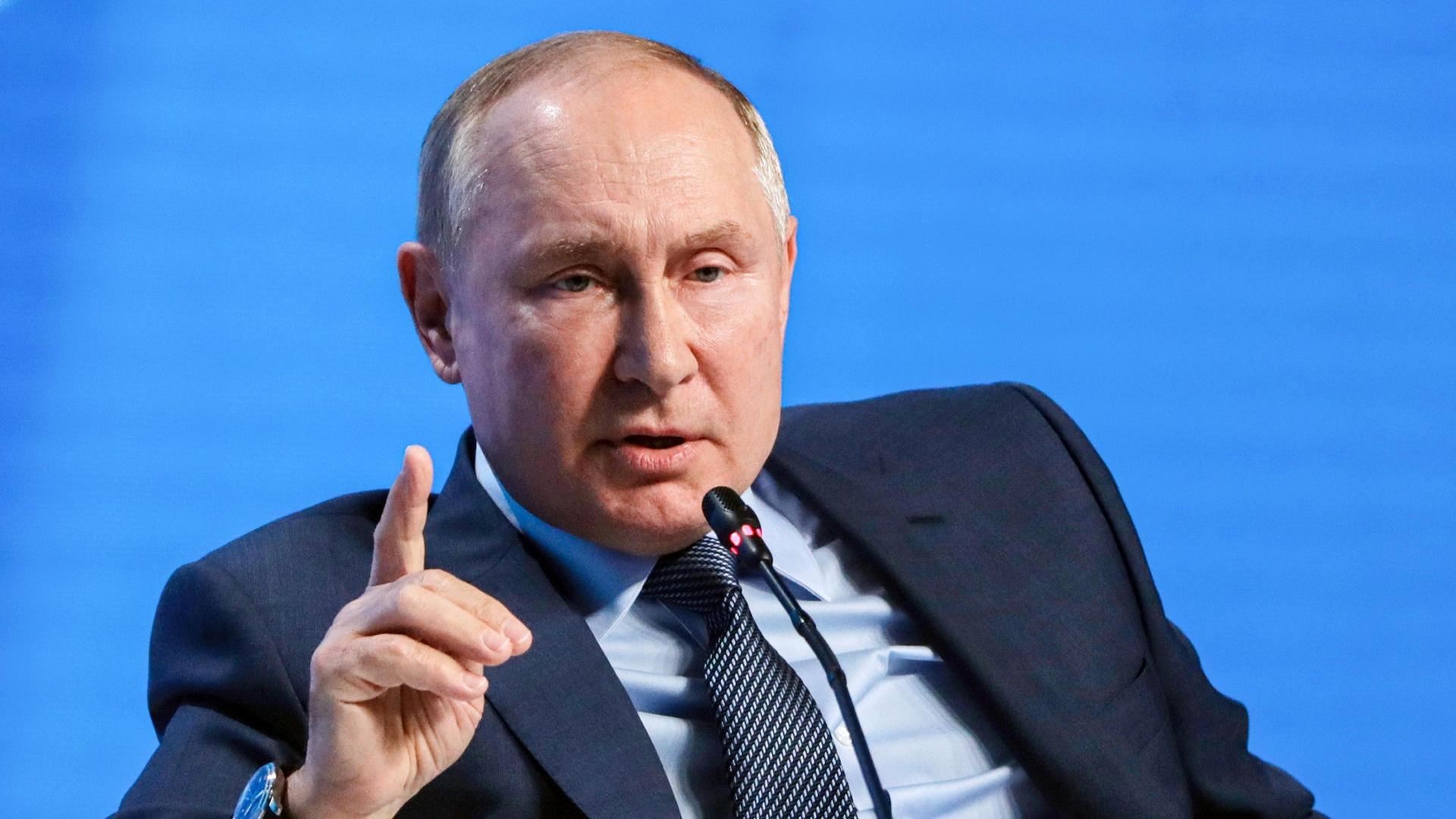 Khủng hoảng năng lượng: Tổng thống Nga nói về hành động vô nghĩa, lộ dự án mới với Trung Quốc. (nguồn: AP)