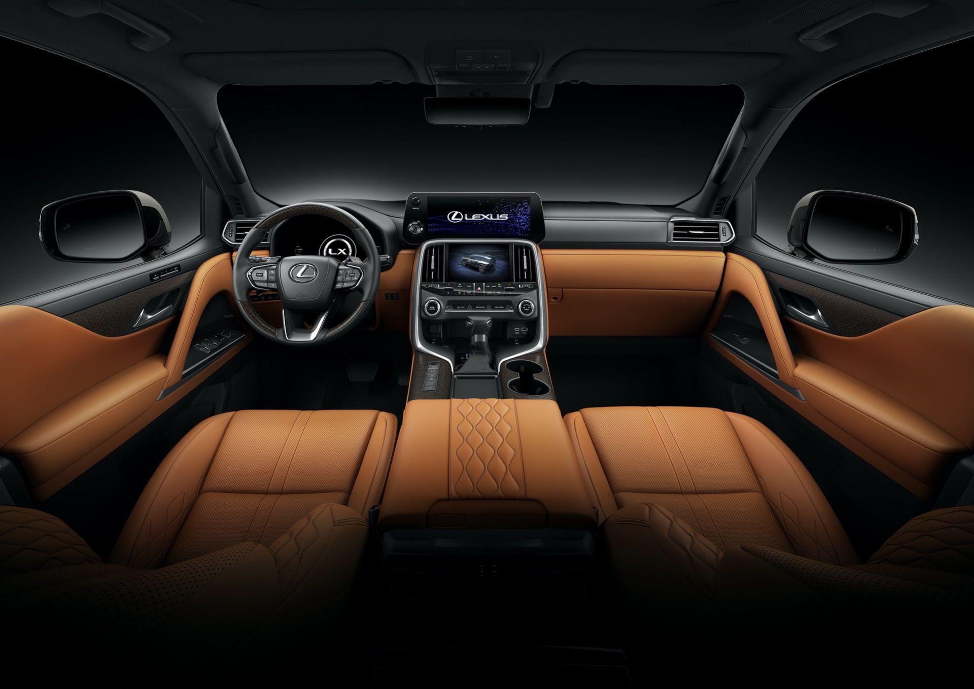 Cabin xe Lexus LX 2022